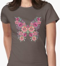Flowers, Berries and Butterfly T-Shirt