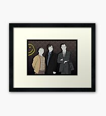 Sherlock Office party Framed Print