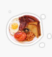 English Breakfast Sticker