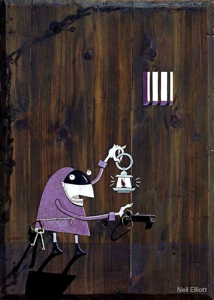 The jailer by Neil Elliott