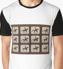 Horse Galloping: Eadweard Muybridge, 1879 Graphic T-Shirt