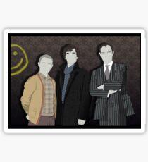 Sherlock Office party Sticker