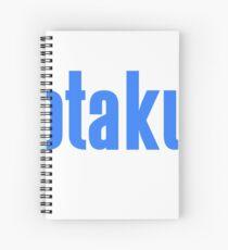 Otaku Confirmed (Blue / White) Spiral Notebook