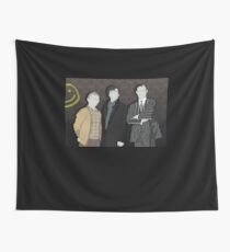 Sherlock Office party Wall Tapestry