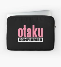 Otaku Confirmed (Pink / White) Laptop Sleeve