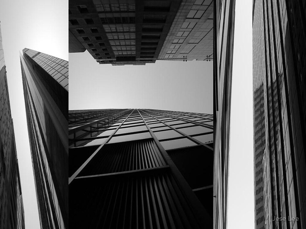 Building at Circualr Quay from 3 different angles by Jese Lee