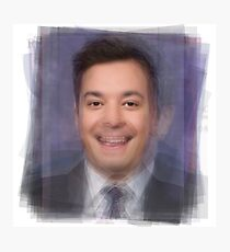 Jimmy Fallon Portrait Photographic Print