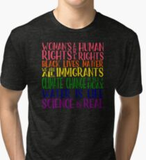 Political Protest - United we are stronger Tri-blend T-Shirt
