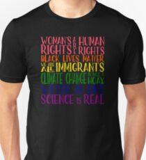 Politischer Protest - Gemeinsam sind wir stärker Unisex T-Shirt