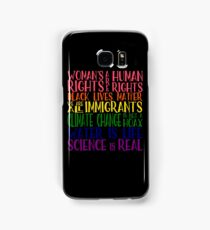 Political Protest - United we are stronger Samsung Galaxy Case/Skin