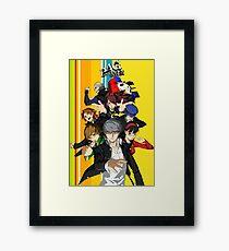 Persona 4 Golden Framed Print