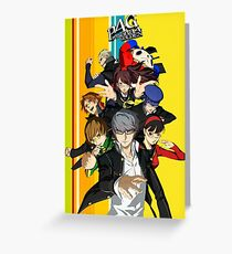 Persona 4 Golden Greeting Card