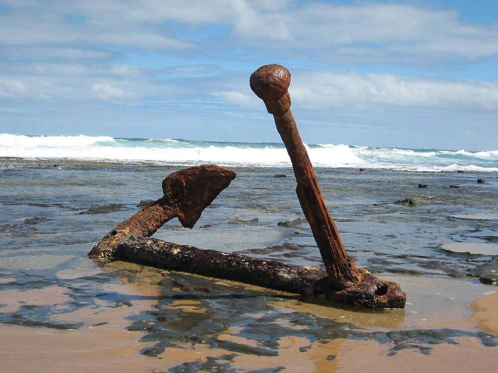 Wreck beach by deborah
