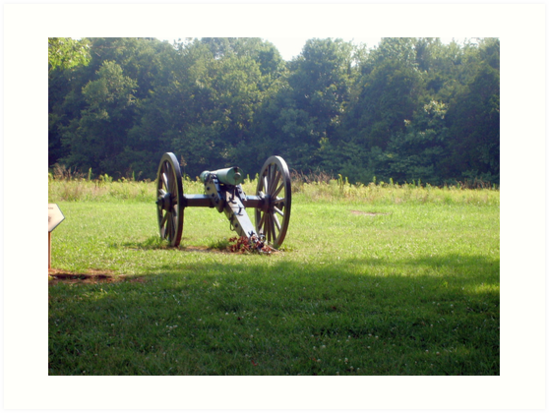 civil war cannon by woody42tn