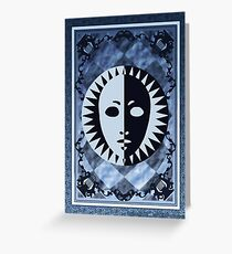 Tarot Card Greeting Card