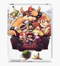 Mario and Friends - Mario Kart iPad Case/Skin