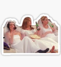 friends dresses Sticker