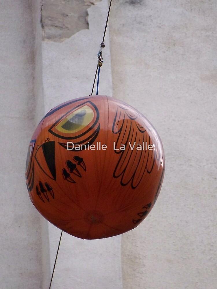 Owl Balloon 2 by Danielle  La Valle