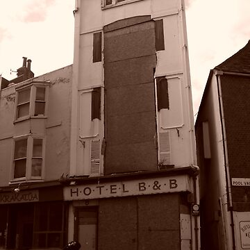 Derelict B&B (on Pool Valley) In Brighton 1 by DELAVALLE