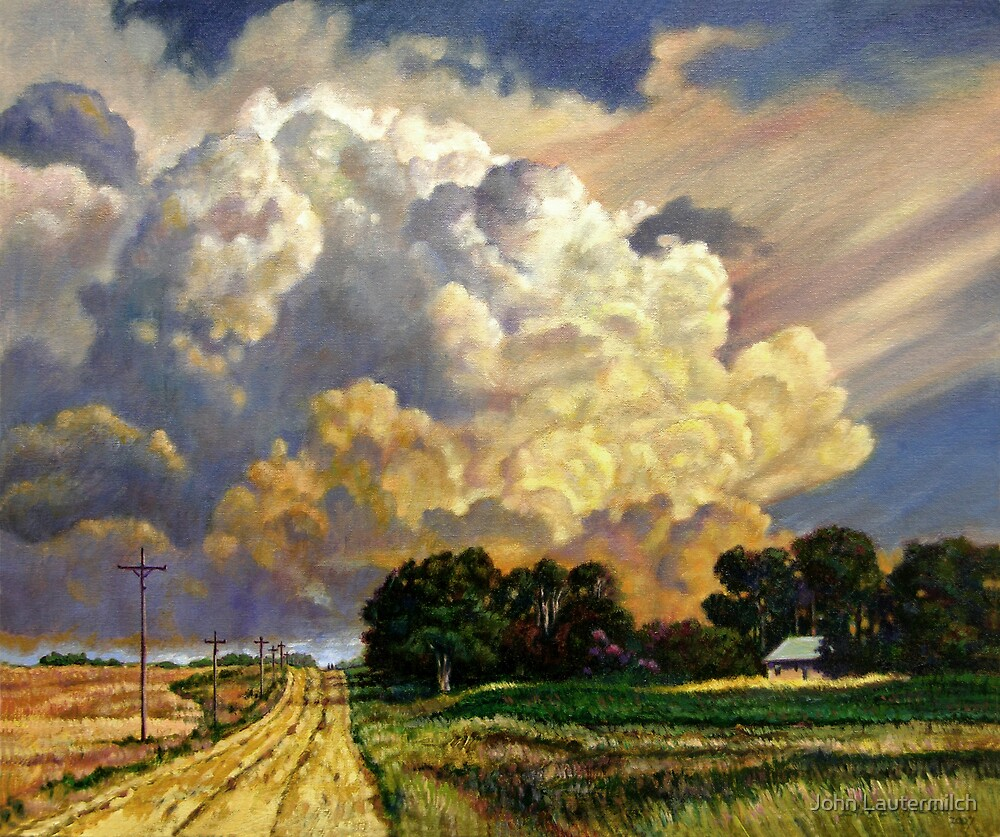 """The Road Home"" by John Lautermilch"
