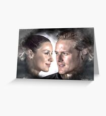 "Cait & Sam ""in the Clounds"" Greeting Card"