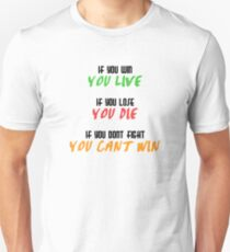 Eren Jaeger Quote T-Shirt