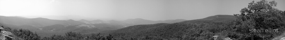 Skyline Drive, Virginia by sean elliot