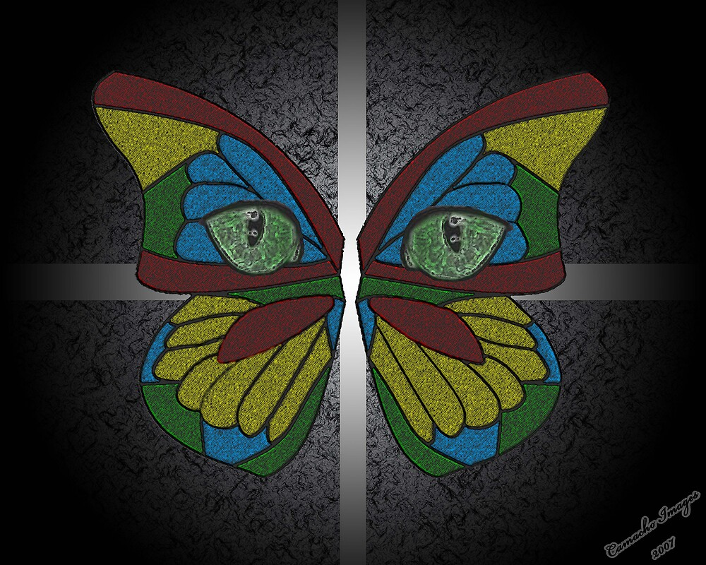 Butterfly Eyes by pr1konnect
