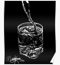 Water in a Glass Poster