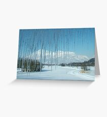 Where are the Greens gone? Greeting Card