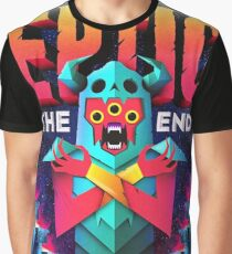 EPTIC - THE END EP COVER Graphic T-Shirt