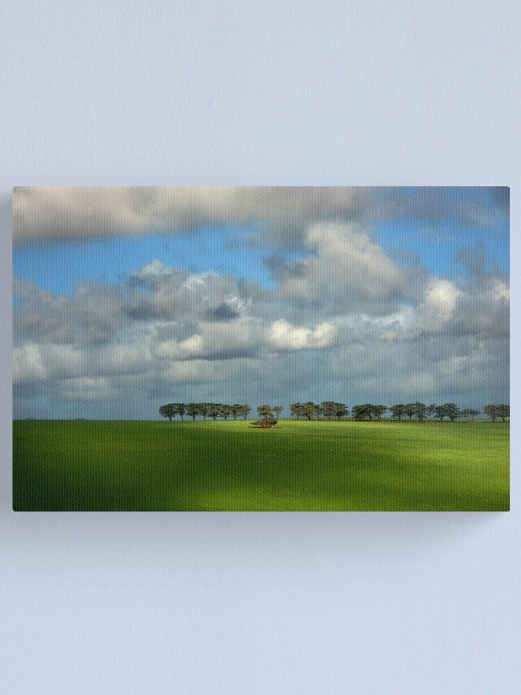 Alternate view of Treeline Canvas Print