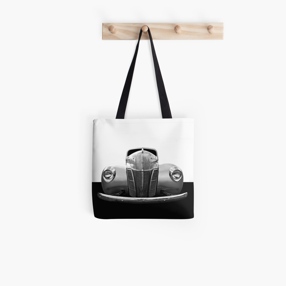 1940 Ford - Hoher Kontrast Stofftasche