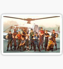 Resident Evil- STARS Sticker