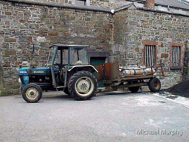 Irish Shopping Cart by Michael Murphy