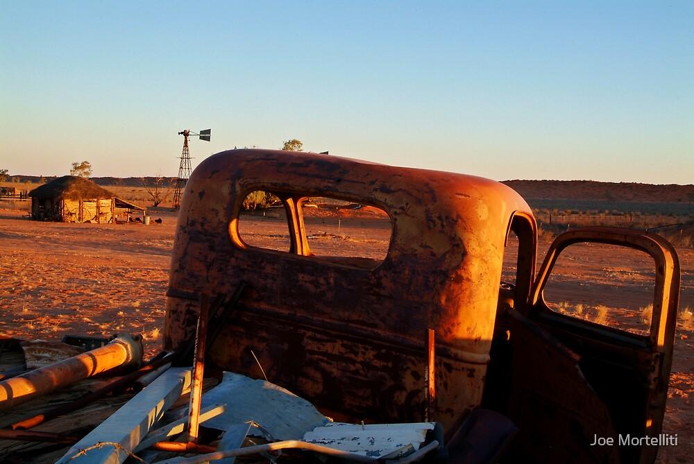 Old Andado Station Simpson Desert by Joe Mortelliti