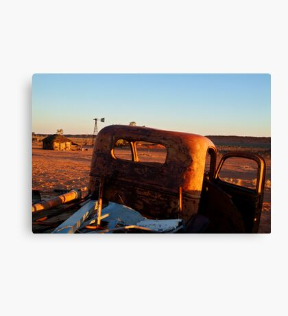 Old Andado Station Simpson Desert Canvas Print