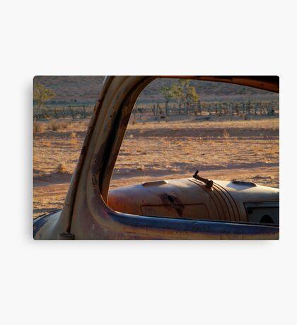 Station Wreck,Old Andado, Simpson Desert Canvas Print