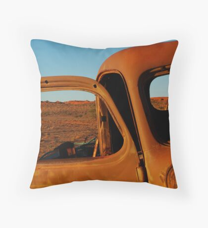 Historic Old Andado,N.T. Throw Pillow
