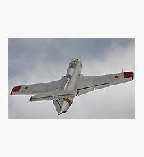 Military jet Photographic Print