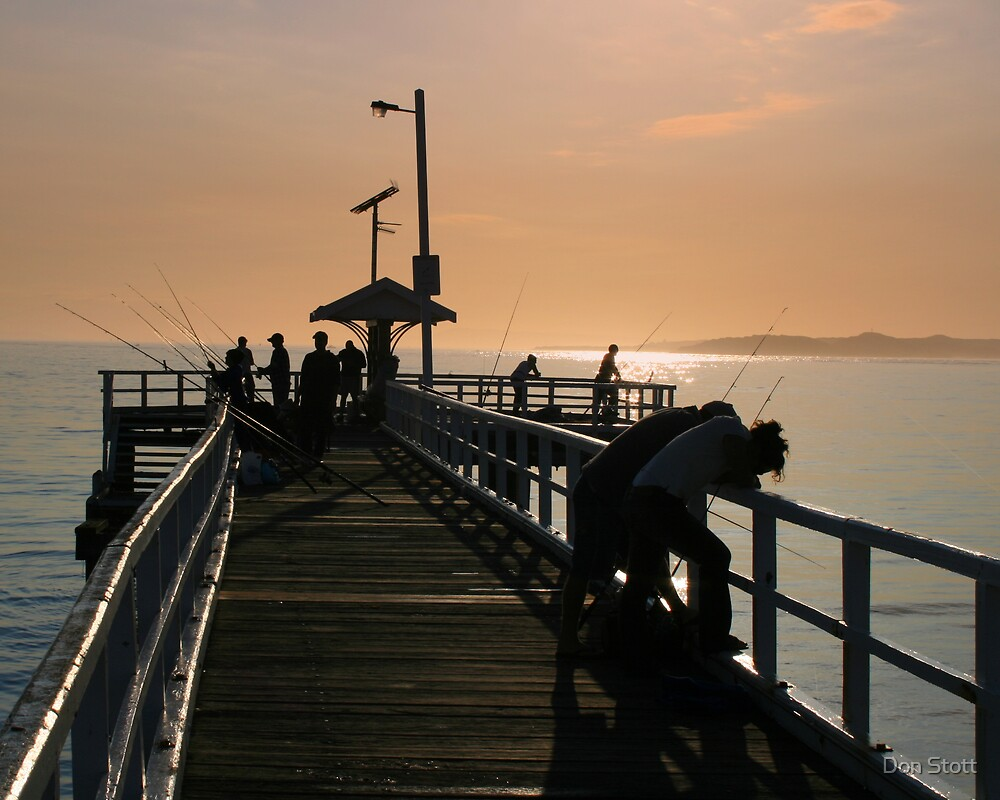 Pier at the Point by Don Stott