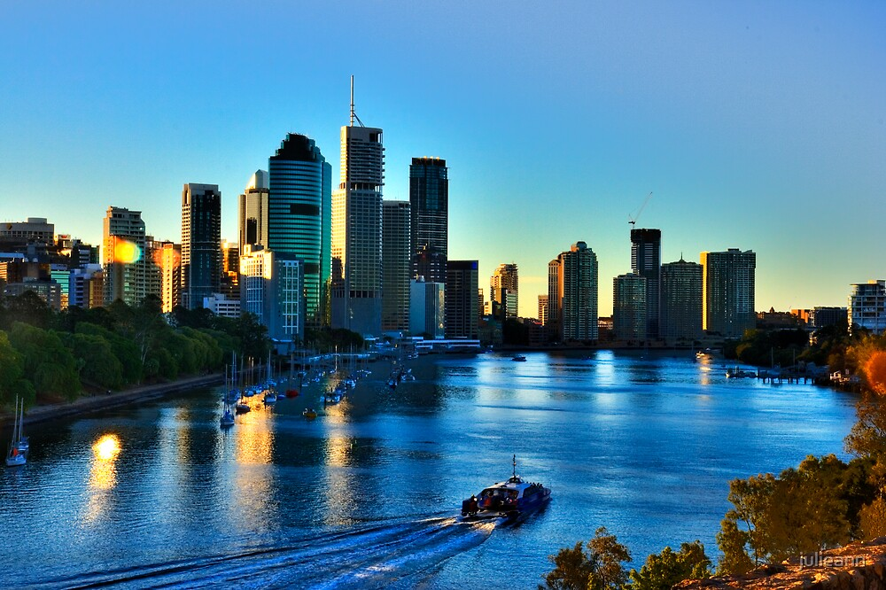 Brisbane in the Afternoon by julieann