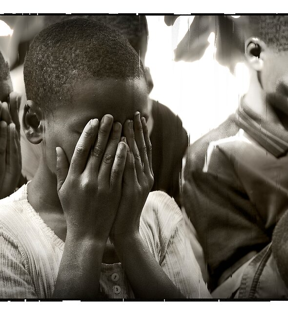 Here but by the grace of God that could have been me. Rwanda, Africa. by Melinda Kerr
