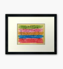 The Edifice Of Devious Intention Framed Print