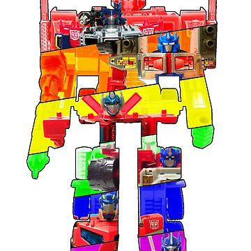 Optimus Prime Spectrum by atomicthumbs78