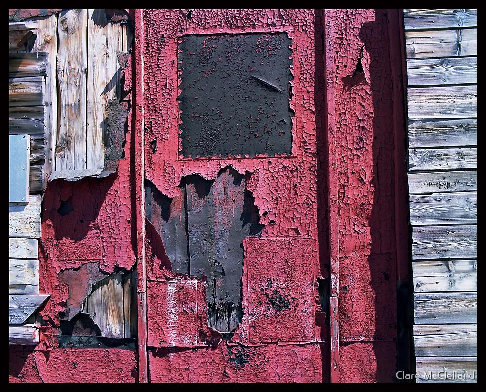 Red Door by Clare McClelland