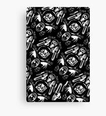 DIEhard horror (Variant) Canvas Print
