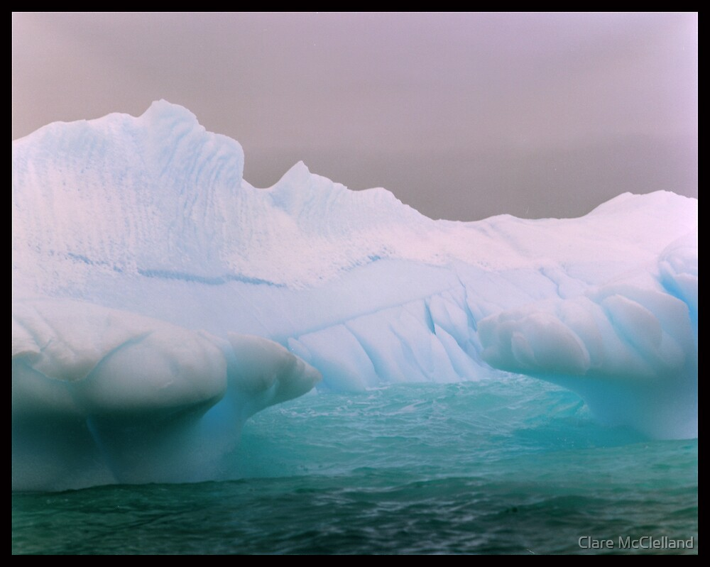 Blue Berg Mouth by Clare McClelland