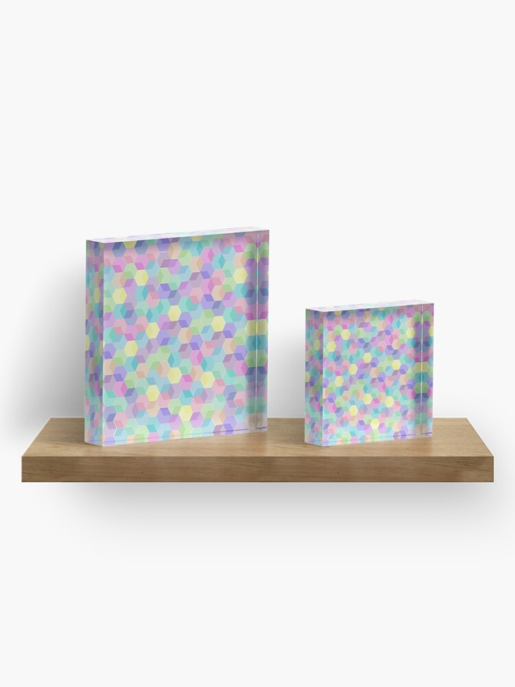 Alternate view of Color Cubes Acrylic Block