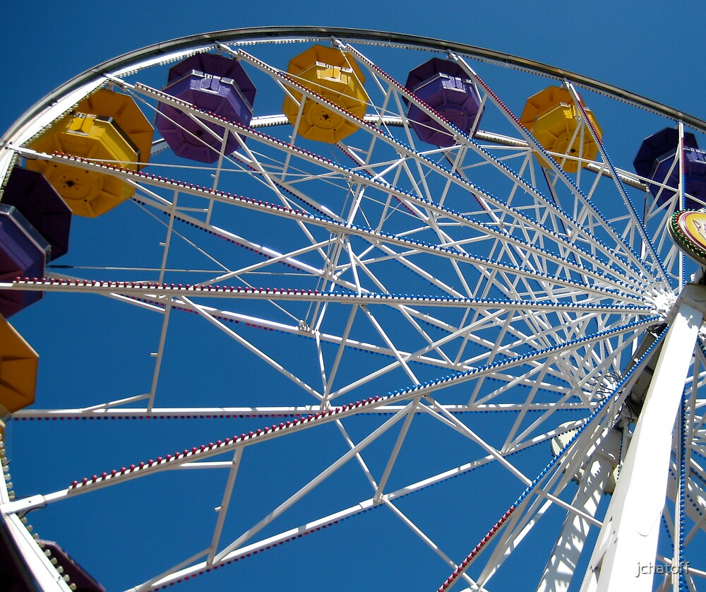 ferris wheel by jchatoff